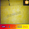 Thermal conductivity glass wool insulation / high density glass wool board