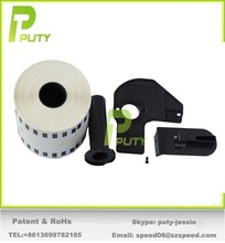Strong Adhesive Avery material thermal transfer paper dk11204 labels with reusable cartridge