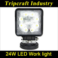 "TRIPCRAFT Newest 4"" LED work light/24w LED work light truck parts/12v LED work light for trucks"