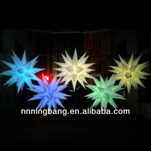 NB-ST2024 Ningbang China inflatable stars in club wedding favor