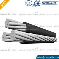 LV XLPE Insulated Aerial Bundled Cables 2 / 3 / 4 Core Aluminium