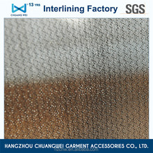 China knitted fabric garment ployester interlining for shirt(5100) With SGS