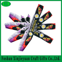 Custom Decorative festival Fabric sublimation printing wristband