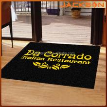 fashionable nylon printed outdoor logo mat