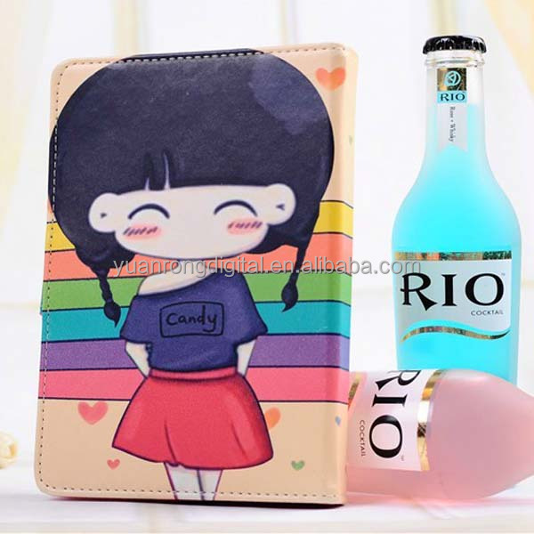 Lovely Cartoon Style Tablet Leather Case for iPad mini