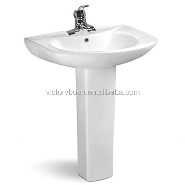Victoryboch bathroom accessories pedestal basin ceramic for Bathroom sanitary accessories
