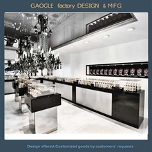 New arrival design retail watch counter/watch store decor showcase