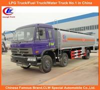 Dongfeng 6x2 Fuel Tank Truck Capacity Oil Tank Truck Diesel Type Strong Steel Tank