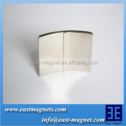permanent arc motor generator magnet