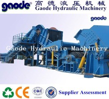 Hot sale!steel scrap typical crushing line /forward out PSX-4500
