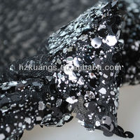 wholesale sequin embroidery beaded lace fabric