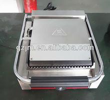 Caliente la venta comercial de contacto grill tcg-811