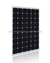 High quality high efficiency solar panel 200w 220w 250w mono cell