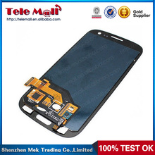 For Samsung Galaxy S3 i9300 Digitizer LCD With Touch Screen & Middle Frame, Wholesale Lcd Replacement Part For Samsung S3