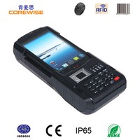 Mobile Android wireless POS terminal with RFID reader, thermal printer,fingerprint