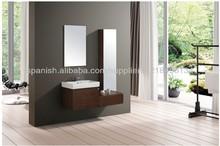 moderno cuarto de baño muebles de acero inoxidable de pared baño modelo gabinete