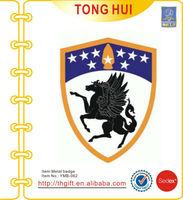 The Pegasus/flying horse army/force metal badge emblem lapel pin