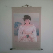 Silk gifts, Home Decoration hangs a picture, Chinese Girl