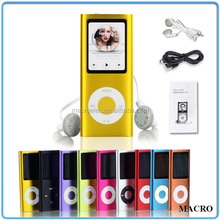 Slim 1.8'' LCD AAA Battery MP3 Player 8GB