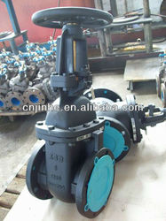 MSS/ANSI SP-70 rising or non-rising stem flanded ends OS & Y or NRS solid wedge disc cast iron gate valve