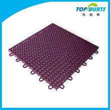 16 standard color made in china colorful pp flooring for basketball