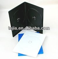 PP 7mm double black cheap dvd cases with recycle
