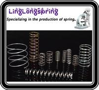 small precise metal compression spring