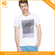 Silk Screen Printing Wholesale O-Neck T Shirts