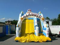 Santa Claus inflatable slide