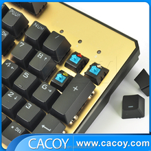 Wired Mechanical Feel Blue Backlit Gaming Keyboard Factory Wholesale Direct