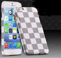 New Luxury Retro Plaid pattern Ultra Thin Phone Back Cover For iPhone 6/6 plus