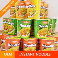 [ Sample Free ] Professional Food Factory / Cup Instant Noodles / Halal Ramen
