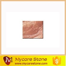Hot sale Red marble floor tiles, Tea Rose Marble floor tile for interior decoration
