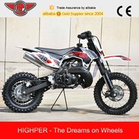 Gas-powered Kid's Dirt Bike 50cc with CE Approval (DB502B)