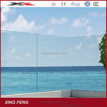 China manufacture House design tempered glass fence panels