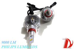 Super bright auto lights 9000lm 12v 9005 HB3 power led/car led lighting