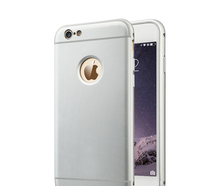 Ultra thin aluminum metal bumper cell phone case cover for iphone case