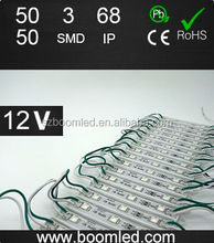 LED Modules with green lights