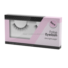 carnival decorated hologram human hair novelty synthetic hair mellow lashes great customized logo boxes
