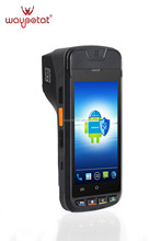 waypotat customized android pos bill payment with printer i9000s