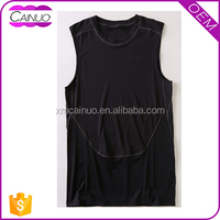 Polyester Cotton Custom Mens Tall Singlets Tank Tops Sale