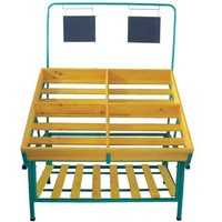 2014 best selling Vegetable And Fruit Display Shelf/Fruit rack stand