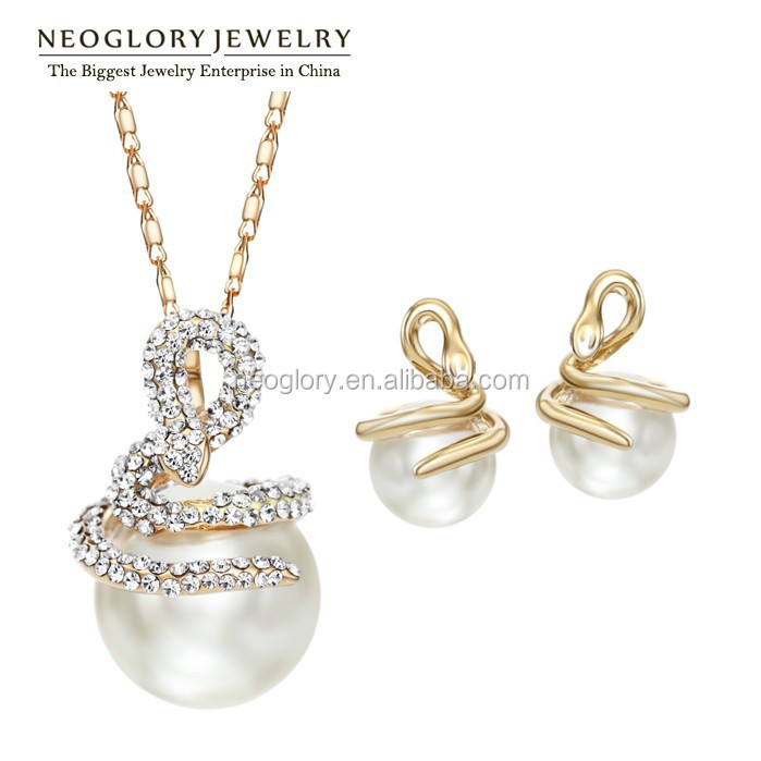 Wholesale wholesale neoglory beautiful rhinestone pearl for Wholesale 14k gold jewelry distributors