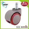 kids auto brake high quality office round special caster wheel