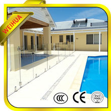 Tempered Laminated Glass Swimming Pool Fence Panels With CCC/SGS/ISO9001