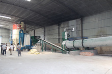 cheap price carbon steel 1-50t/h rotary drum air dryer