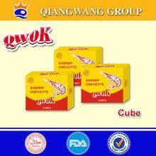 10 g / CUBE QWOK poulet HALAL / crevettes / boeuf BOUILLON CUBE