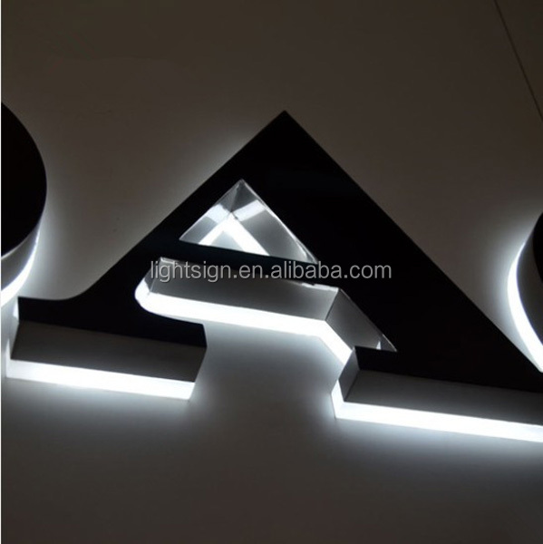 lighted channel letters metal letters