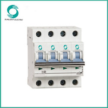 L7 Non-polarity dc 1000v lcu 6ka triangle window mcb switch types of electrical circuit breakers