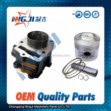 Lifan CB125 Motorcycle Cylinder kit Water Cooled Engine 56.5mm diameter High Quality Motorcycle Parts Engine Piston Ring